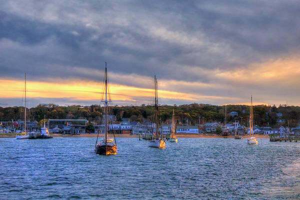 Photograph - Martha's Vineyard Sunset by Joann Vitali