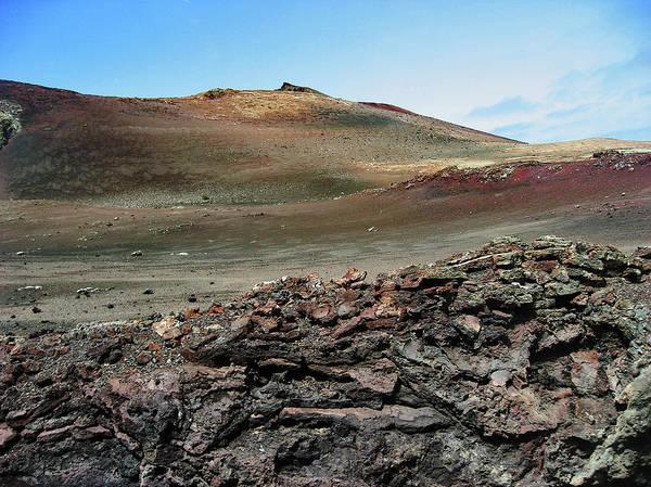 Lanzarote Digital Art - Martian Landscape. Texture. by Andy Za