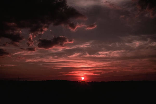 Photograph - Martian Sunset by Mike Dunn