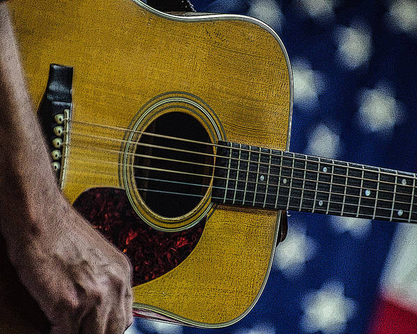 Photograph - Martin Guitar 1 by Jim Mathis