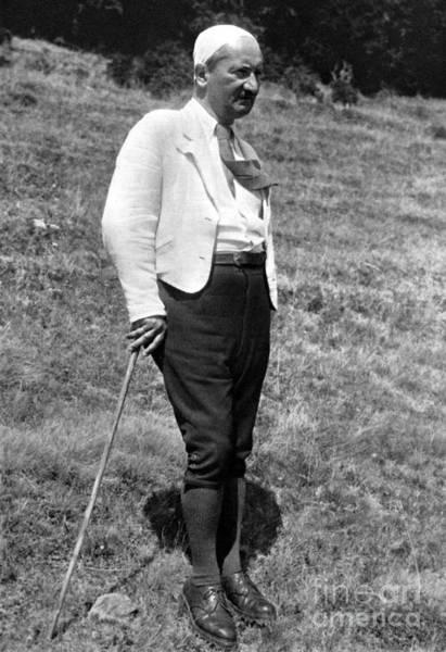 Photograph - Martin Heidegger (1889-1976) by Granger