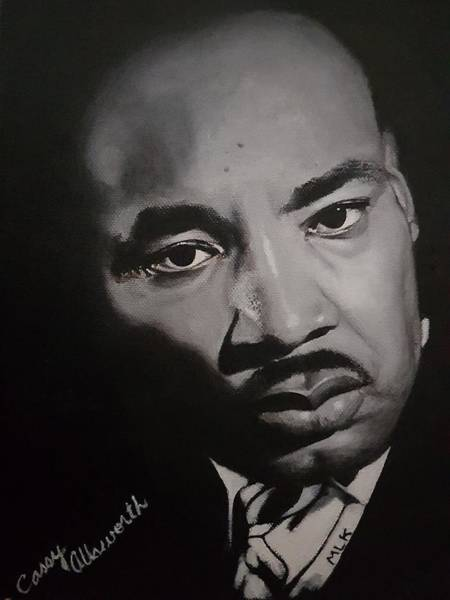 Painting - Martin Luther King by Cassy Allsworth