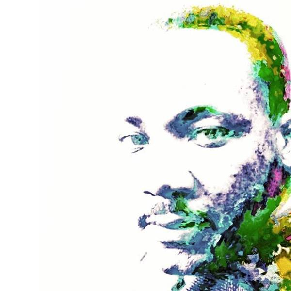Peace Wall Art - Photograph - Martin Luther King Jr. He Spoke For by David Haskett II