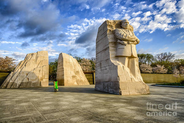Photograph - Martin Luther King Jr Memorial by Thomas R Fletcher