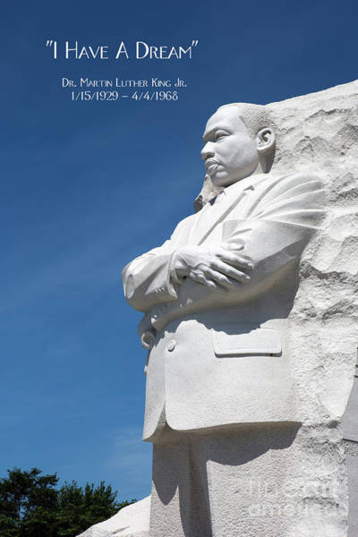 Photograph - Martin Luther King Jr. Monument by Steven Frame
