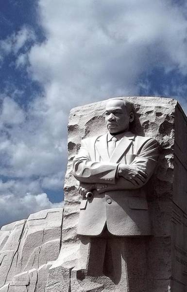 Photograph - Martin Luther King Junior Monument by Danielle R T Haney