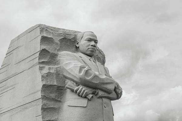 Photograph - Martin Luther King Memorial In Washington Dc by Brandon Bourdages