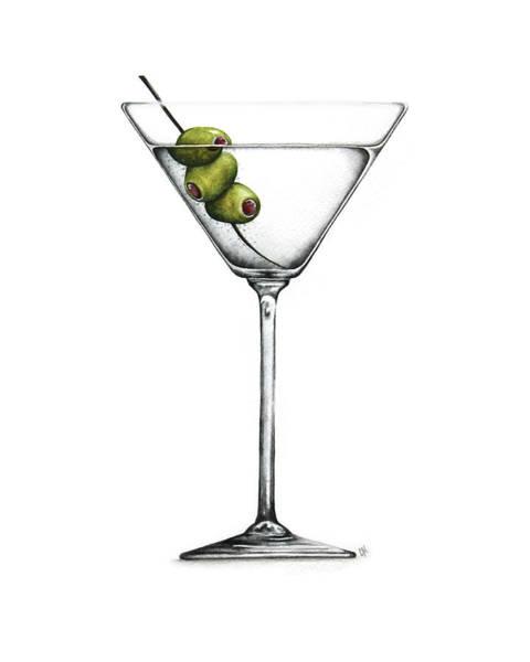 Martini Painting - Martini by Christina Meeusen