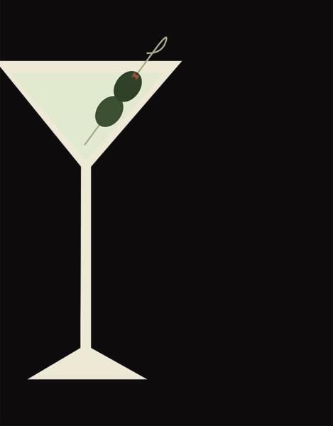 Drink Wall Art - Digital Art - Martini by Julia Garcia