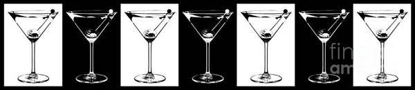 Stir Photograph - Martini Party by Jon Neidert
