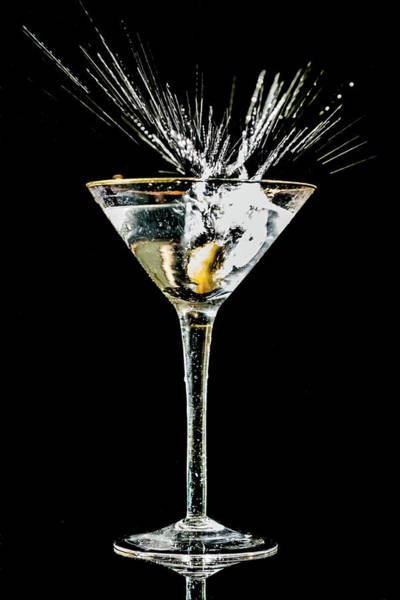 Photograph - Martini Splash by Sven Brogren
