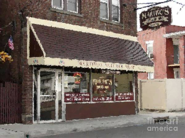 Photograph - Martino's Butcher Shop by Donna Cavanaugh