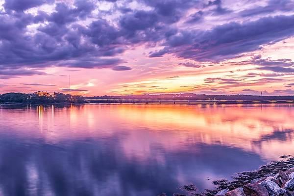 Wall Art - Photograph - Martins Point Sunset 2 by Tim Sullivan