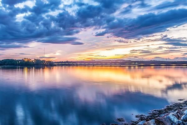 Wall Art - Photograph - Martins Point Sunset by Tim Sullivan