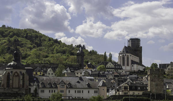 Wall Art - Photograph - Martinskirche And Mother Rosa Chapel In Oberwesel by Teresa Mucha