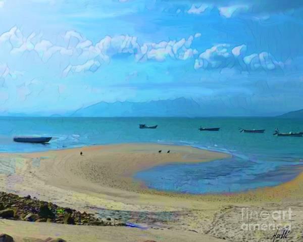 Panama Digital Art - Marvel Of The Sea  by Aline Halle-Gilbert