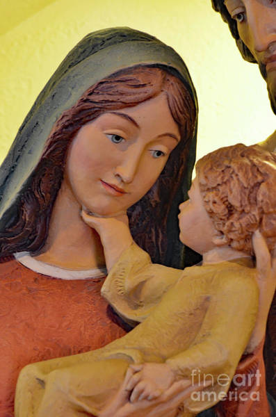 Wall Art - Photograph - Mary And Baby Jesus by Debby Pueschel