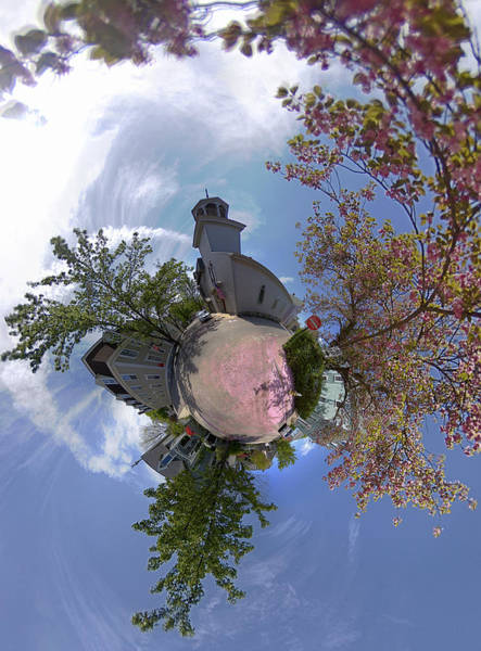 Wall Art - Photograph - Mary And School Steets In Newport by Christopher Blake