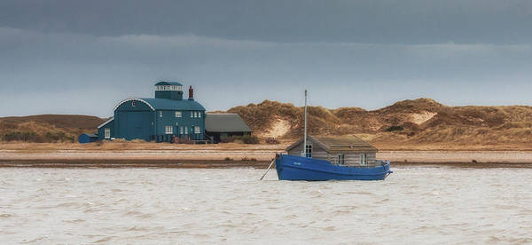 Lifeboat Photograph - Mary And The Lifeboat House by Nigel Jones