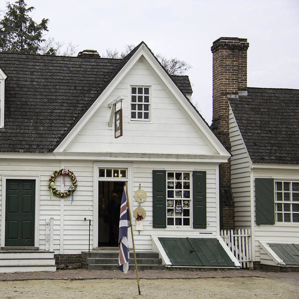 Millinery Photograph - Mary Dickinson Shop Williamsburg Virginia by Teresa Mucha