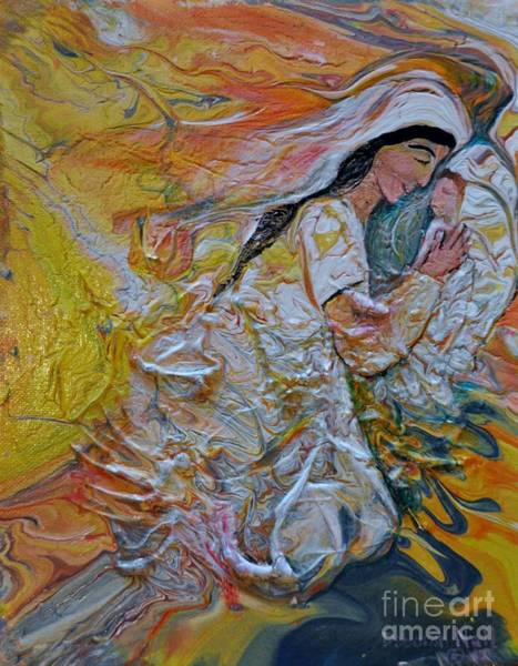 Painting - Mary Did You Know by Deborah Nell