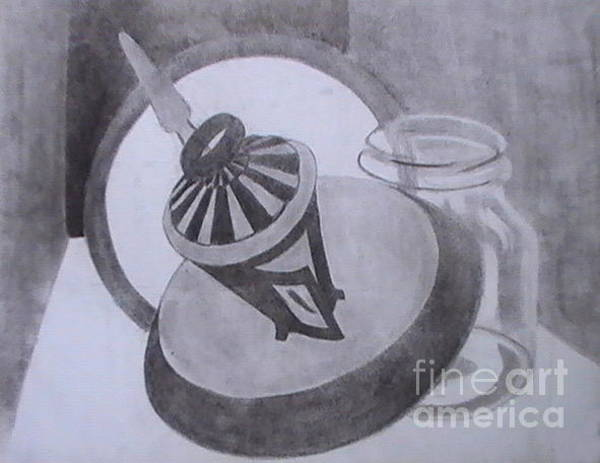 Drawing - Mary Go Round by Toon De Zwart