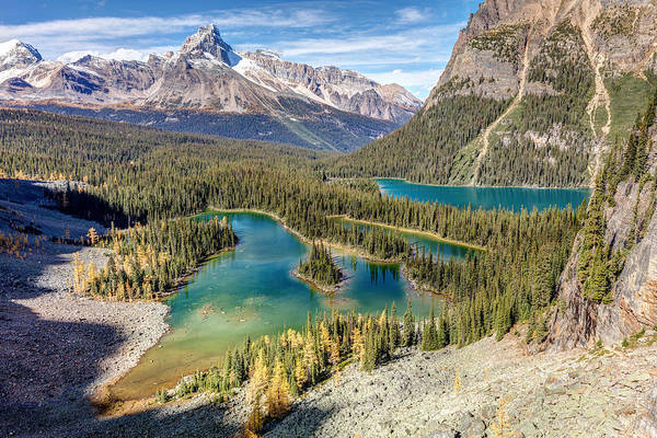 Photograph - Mary Lake View In Yoho by Pierre Leclerc Photography