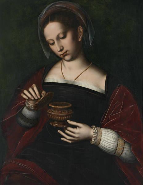 Northern Renaissance Wall Art - Painting - Mary Magdalene by Ambrosius Benson