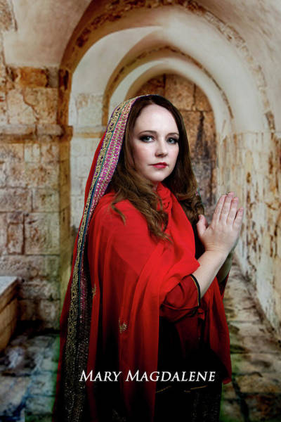 Photograph - Mary Magdalene by David Clanton