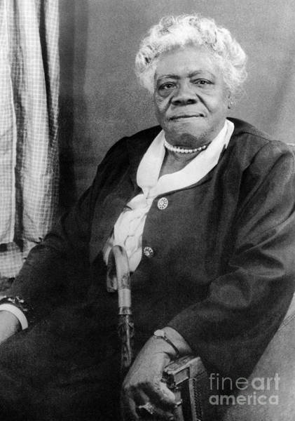 Photograph - Mary Mcleod Bethune by Granger