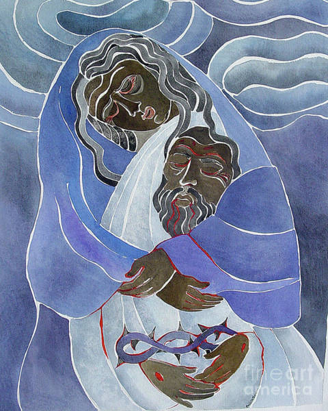 Painting - Mary, Mother Of Sorrows - Mmmms by Br Mickey McGrath OSFS