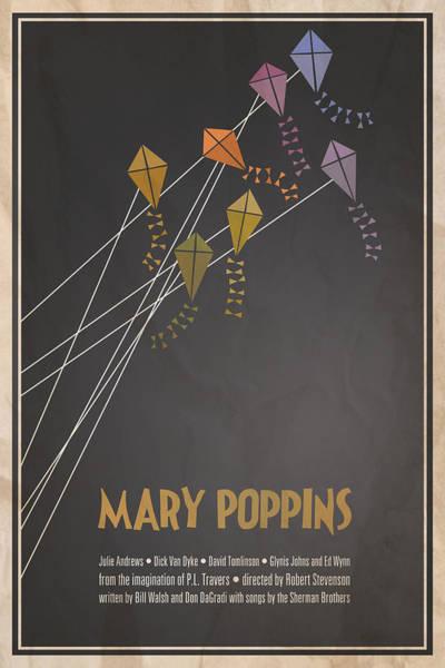 Kite Wall Art - Digital Art - Mary Poppins by Megan Romo