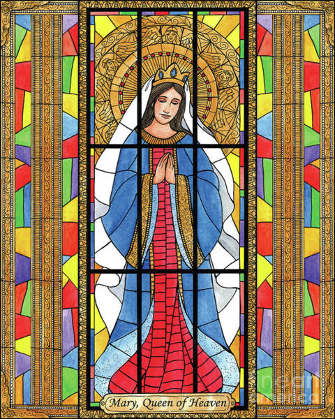 Painting - Mary, Queen Of Heaven by Brenda Nippert