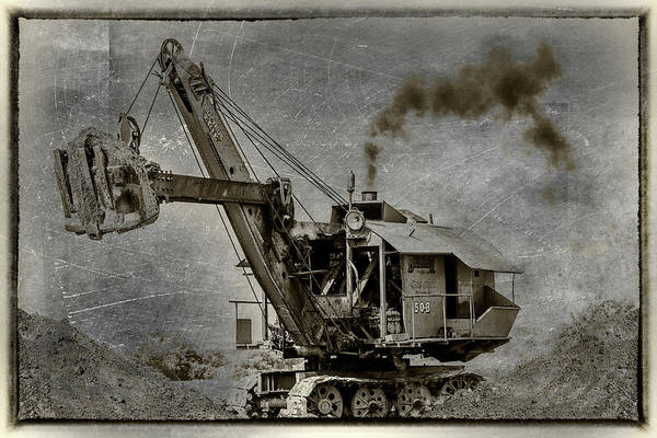 Wall Art - Photograph - Mary Sue Steam Shovel by Paul Freidlund