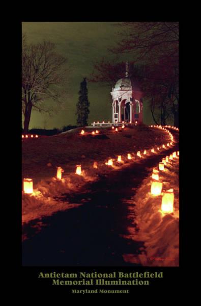Luminaries Photograph - Maryland Monument 89 by Judi Quelland