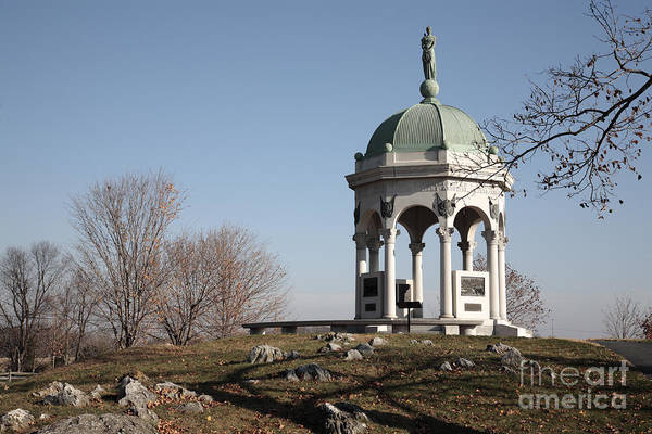 Photograph - Maryland Monument At Antietam by William Kuta