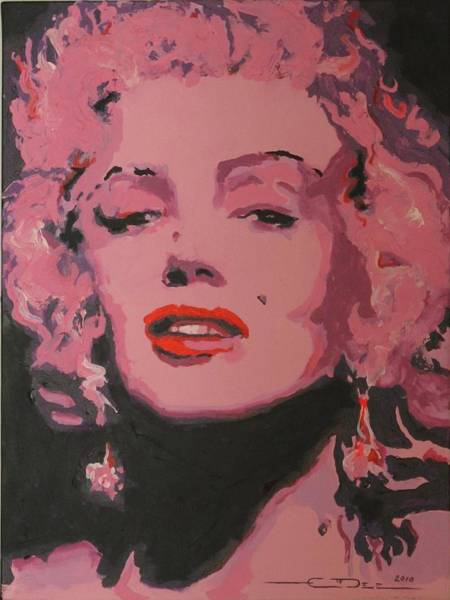 Norma Jeane Mortenson Painting - Marylin Monroe by Eric Dee
