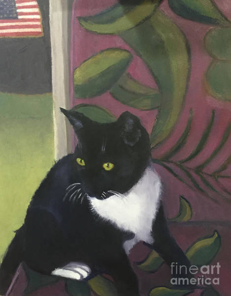 Painting - Mary's Kitty by Linda Anderson