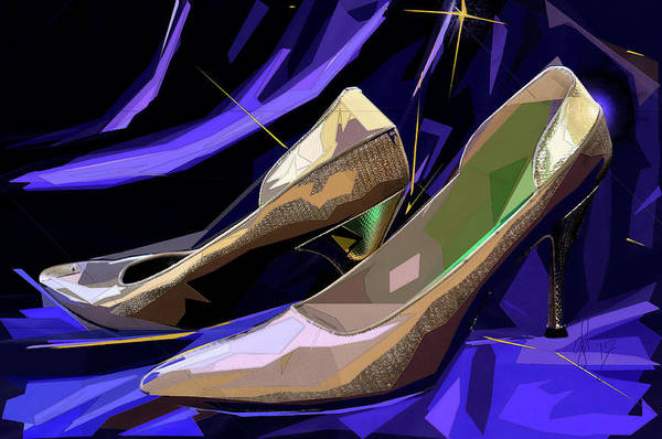 Digital Art - Mary's Mid-century Moderne Collection No. 4 by Gina Harrison