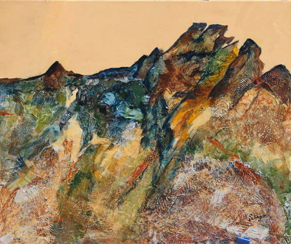 Mary's Mountain Art Print