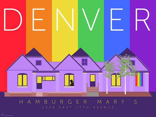 Digital Art - Mary's Rainbow by Sam Brennan