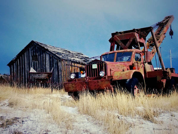 Photograph - Marysville Truck by Susan Kinney