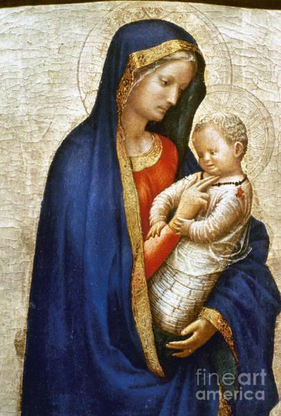 Wall Art - Photograph - Masaccio: Virgin & Child by Granger