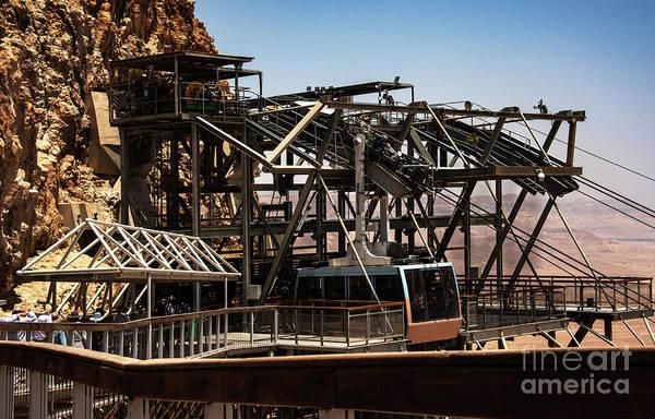 Photograph - Masada Lift by Mae Wertz