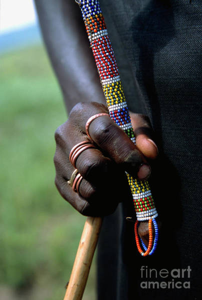Photograph - Masai Hand by Scott Kemper