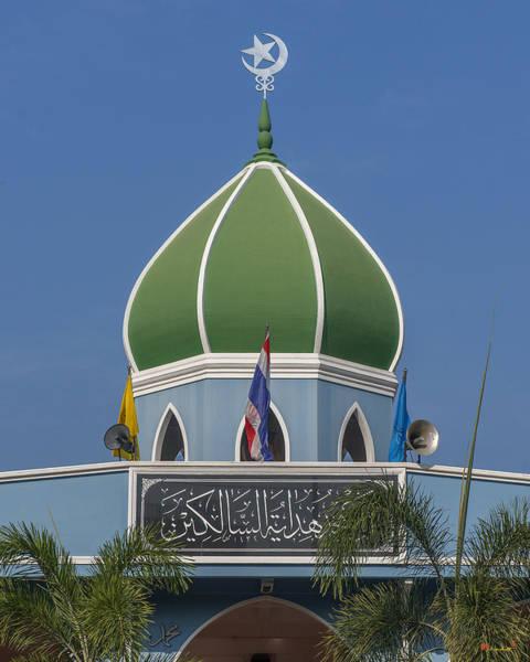 Photograph - Masjid Hidayatussaligeen Center Dome Dthcb0245 by Gerry Gantt