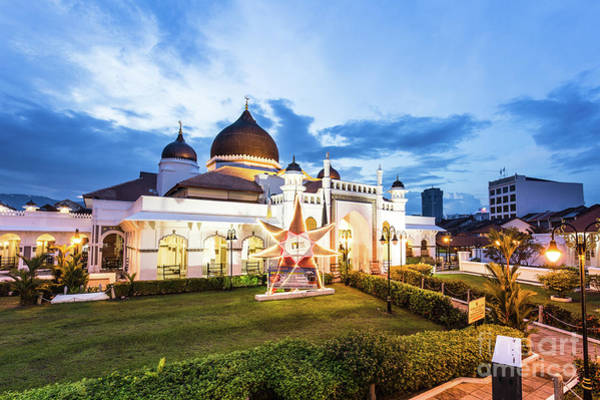 Photograph - Masjid Kapitan In Penang by Didier Marti