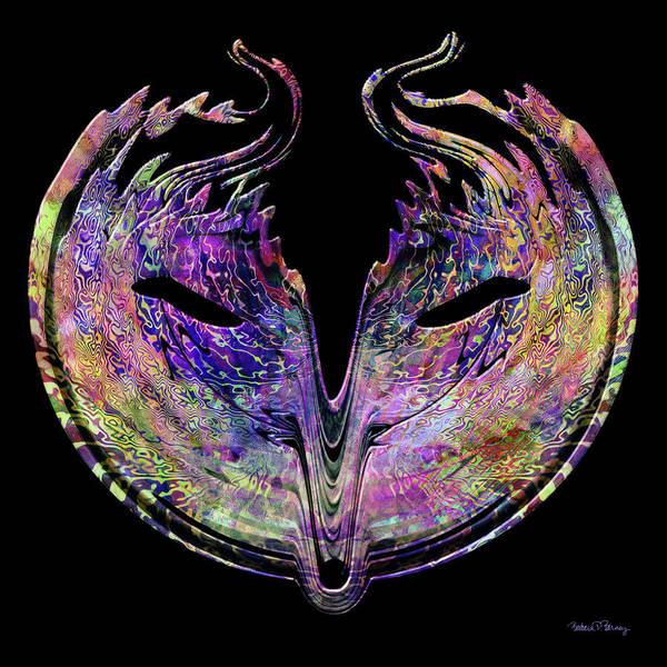 Digital Art - Mask by Barbara Berney