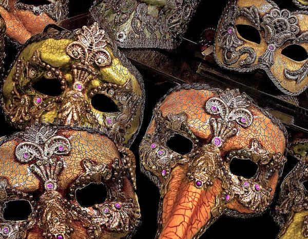 Photograph - Masks by Lynda Lehmann