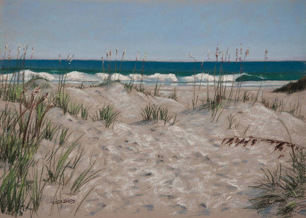 Painting - Masonboro Dunes by Christopher Reid